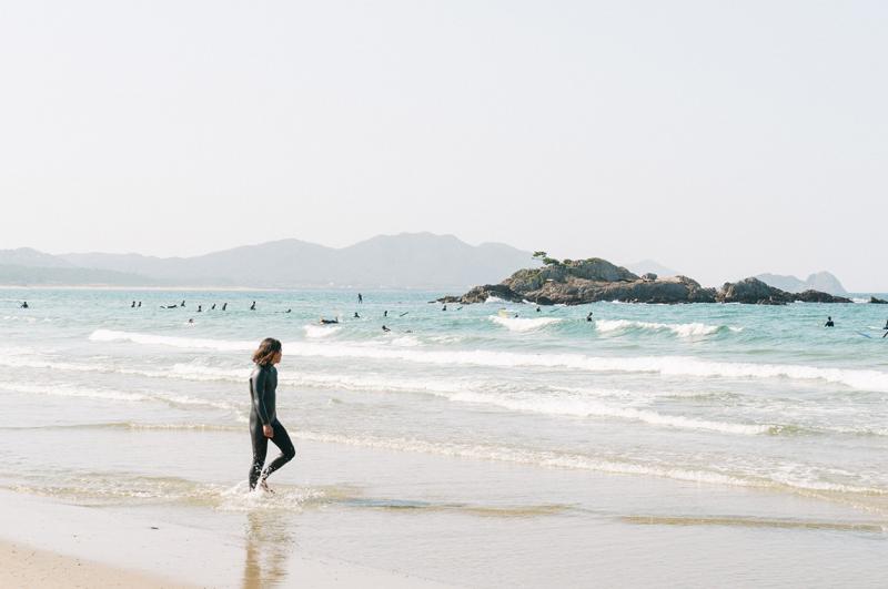 糸島のビーチ